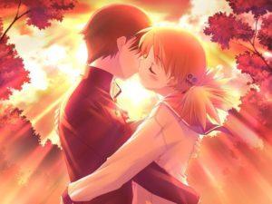 beso de paeja anime