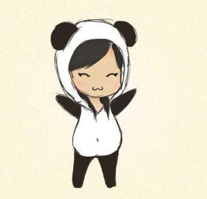 chica panda
