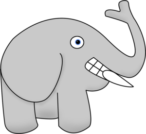 dibujo de elefante