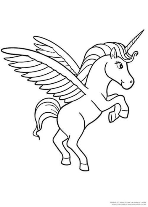 ▷ Imágenes de Unicornios kawaii animados y para Dibujar ◕ω◕