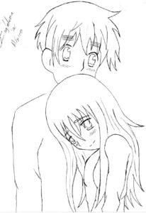 dibujo sencillo de animes