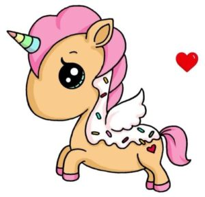 dulce unicornio kawaii