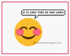 emoji con bonita frase