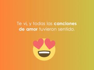 emoji con texto de amor