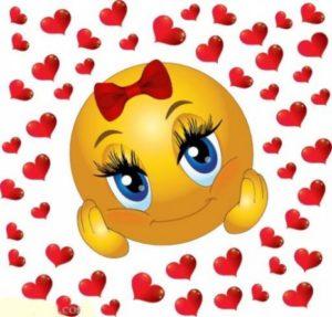 emoji mujer enamorada