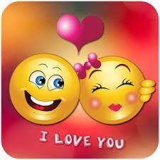 emojis enamorados con frase