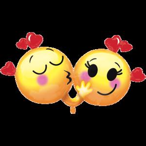 emojis enamorados