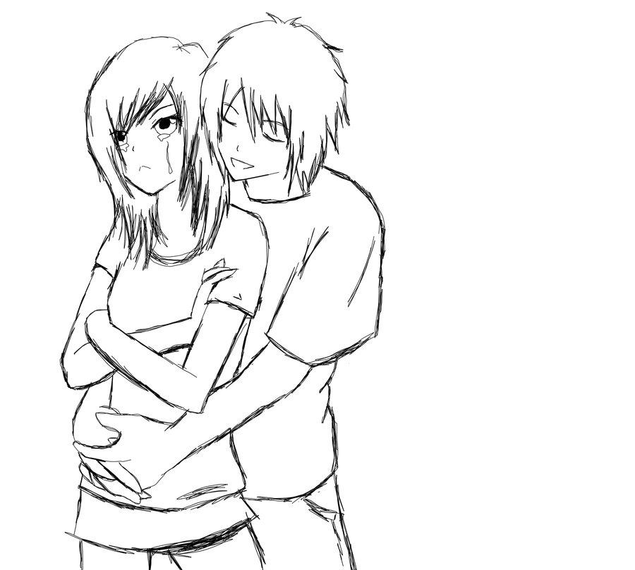 Dibujos De Animes Con Frases De Amor E Imágenes Para