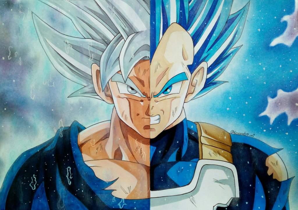 Dibujos Para Colorear De Goku Y Vegeta: 20】Imágenes De GOKU Y Vegueta 【Black