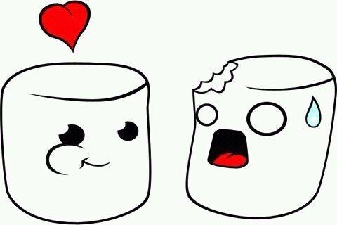 Dibujos Kawaii ω De Amor ღ Imágenes Para Dibujar Y