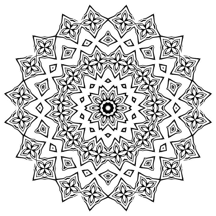8 Imágenes De Mandalas 12 Fáciles De Dibujar Pintar Y