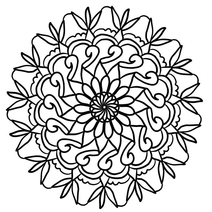8 Im 225 Genes De 171 Mandalas 187 12 F 225 Ciles De Dibujar Pintar Y