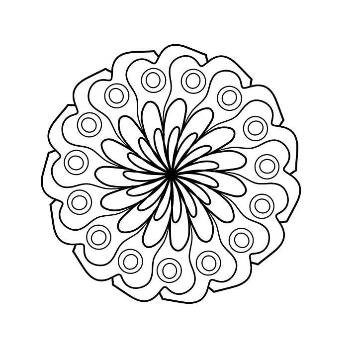 8 Imágenes De Mandalas 12 Fáciles De Dibujar Pintar Y Colorear
