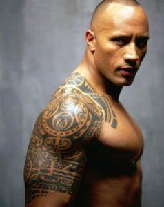 tatuaje brazo de la roca