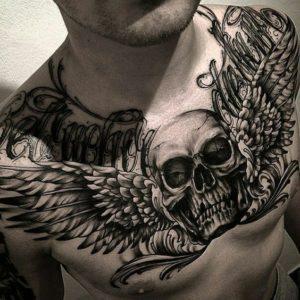 tatuaje en el pecho para hombres