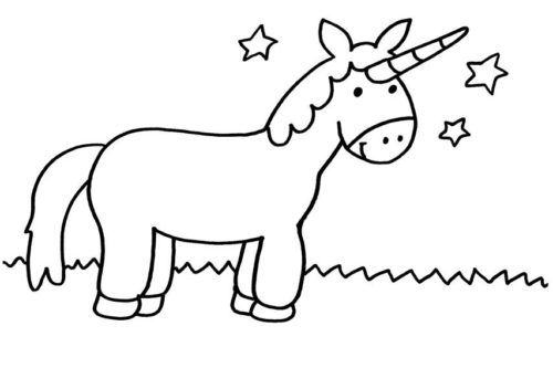Imagenes De Unicornios Kawaii Animados Y Para Dibujar W
