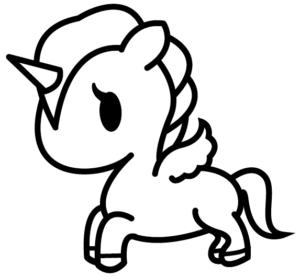 unicornio para dibujar