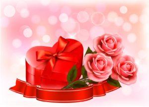 fondo de pantalla de rosas y corazones